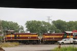 Chicago Short Line Freight Trains at the Illinois/Indiana State Line