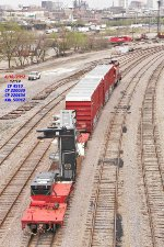 CP 4510 slides package 30 on the KRL into Muskego yard