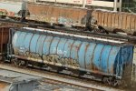 Striped former Pillsbury cylindrical - and Soo 74361 has THREE couplers