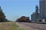 BNSF Z9 and Grain Elevator!