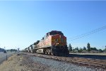 BNSF Manifest at Shafter with CSX!
