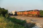 BNSF 6844 Roars west down the Transcon.