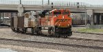 Joint line BNSF with empties.