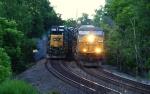 CSX 756 (Q002) & CSX 8873 (Q417)