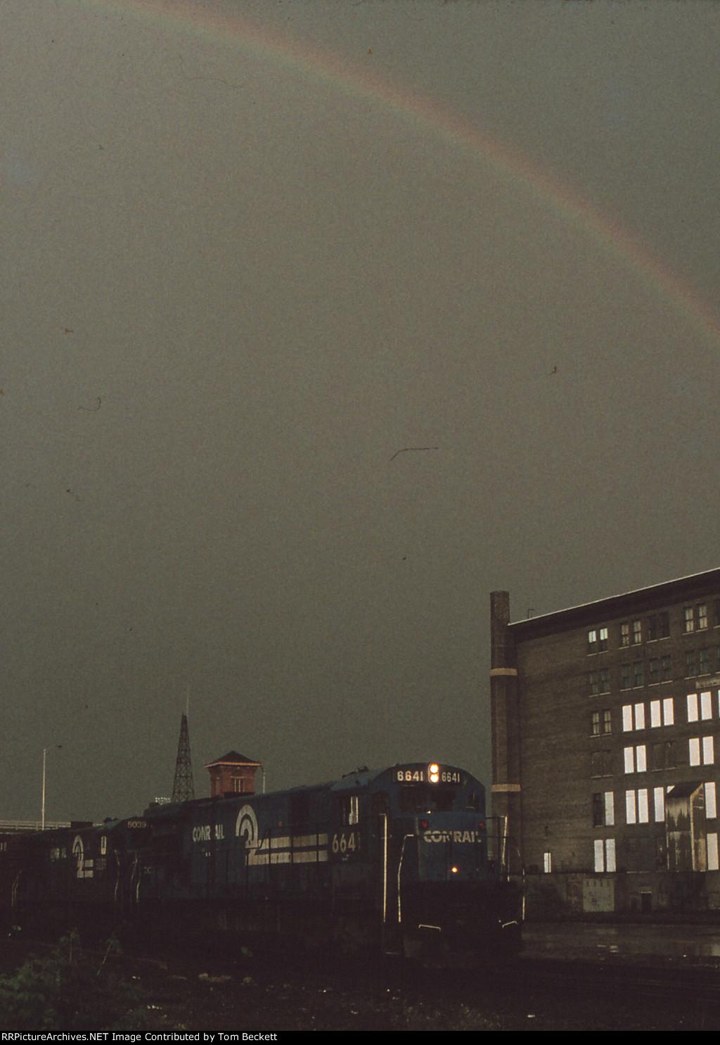 Conrail rainbow