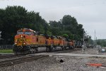 BNSF 4011 South w/ Killer Lashup!
