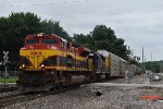 KCS/CSX EMDs lead the AAMEW-10 South
