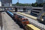 Mid-train DPUs on BNSF stacker