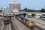 UP 7086 leads WB coal train