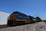 CSX 3005 leads SB BNSF coal train at CP Bravo