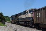 CSX 3005 leads SB BNSF coal train at CP Bravo