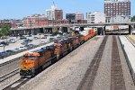 WB BNSF Z-train