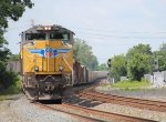 "Eastbound CSX Q090, the hotshot ""salad shooter"" rumbles eastbound for NY state"