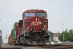 CP Power leads estbound Q166 into town