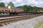 GNWR 2613 Ex FEC Jointed Rail Flatcar