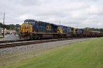 CSX 5313 on NS Ballast Train