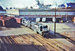 Norfolk Southern switches Champion Papers 1987