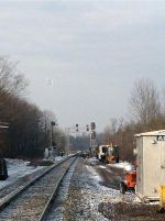 work on the signals at CP ALDEN
