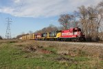 Out on a road trial, the former WSOR 702 leads GDLK303 south for Kalamazoo