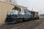 Both down with mechanical issues, MMRR 24 & KRR 3805 sit outside the Ann St engine house