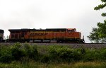 BNSF6152 on an empty coal train