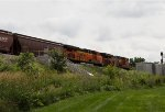 BNSF6594and BNSF7210 passing Peck Park