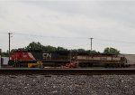 CN2003 and BCR4616 waiting to leave the yard