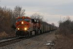 BNSF 6342 & 6174 head down the Holly Sub with Consumers Energy coal loads