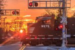Norfolk Southern Dash 9 under the sun
