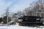 NS SD70ACes plowing snow