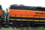 The back end of BNSF 2303