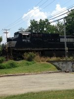 Norfolk and Southern 9578