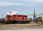 DME6085, BNSF4774, NS6742 and CP9807 at the depot