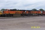 BNSF 6634 & BNSF 4596