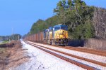 CSX coal train at Anthony, Fla.