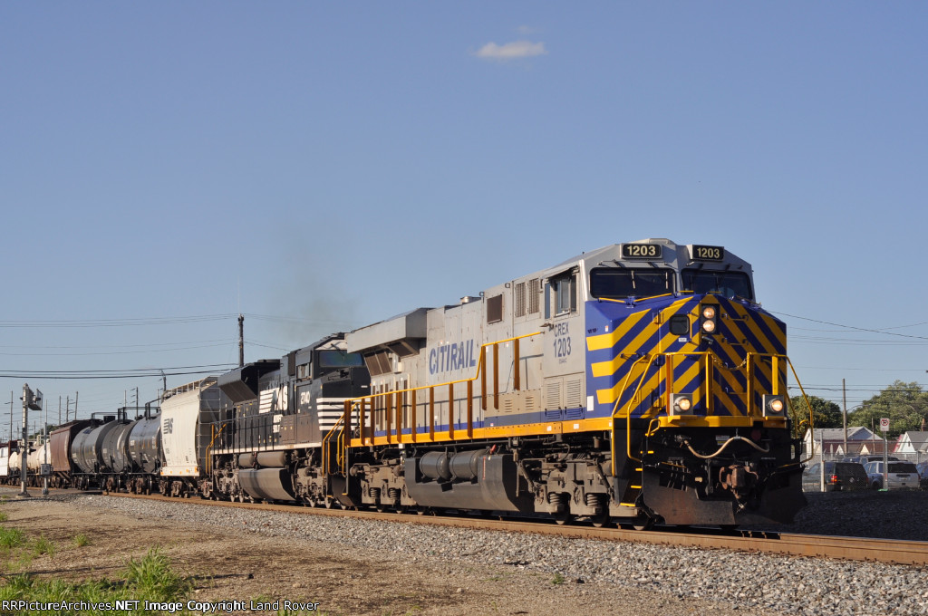 CREX 1203 On NS 177 Southbound