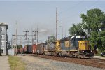 CSXT 8814 ExCon On CSX Q 241 Southbound