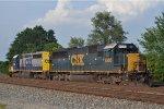 CSXT 8500 On CSX J 791 At New River Yard