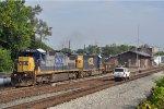 CSXT 7594 On CSX J 785 Eastbound