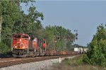 CN 8912 On NS 216 Northbound