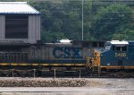 CSX5406 outside the depot