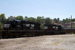 NS6130 and NS6704 stored in the yard