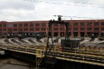 Around the turntable at the locomotive works