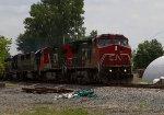CN2167, CN2641, CSX8863, CSX8519 and CSX2662