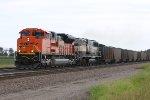 EMD's team up on a east bound loaded coal drag.