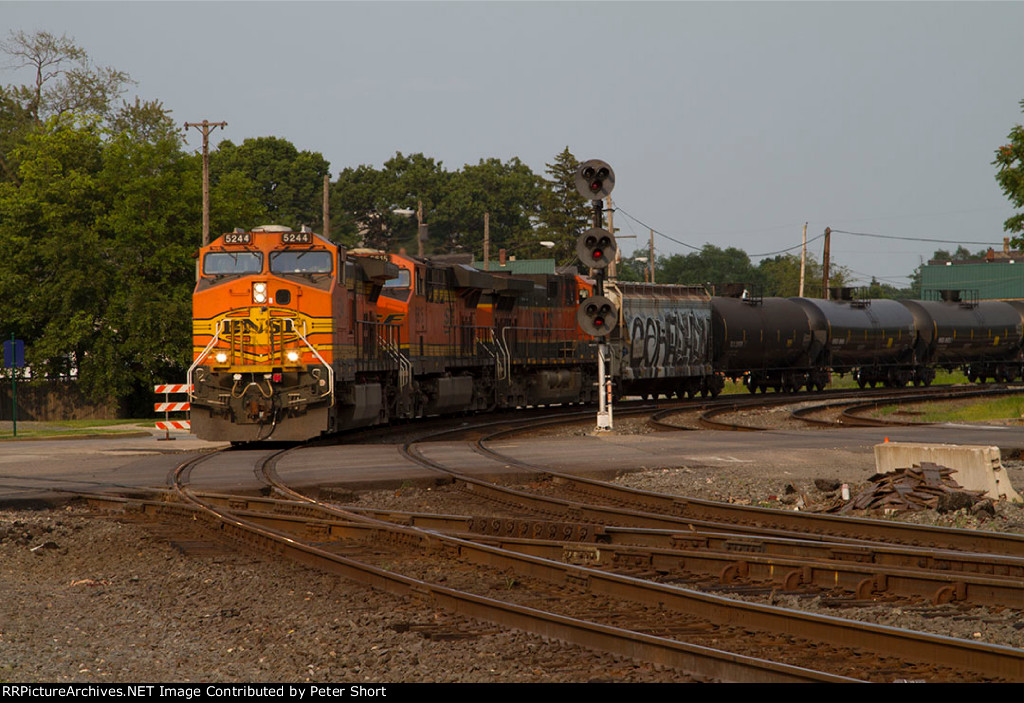 BNSF5244, BNSF6615 and BNSF1021