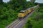 Union Pacific inspection train
