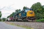 CSX 8766 on Q-417