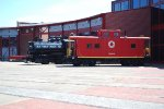 NHTR #43 and LNE Caboose #583
