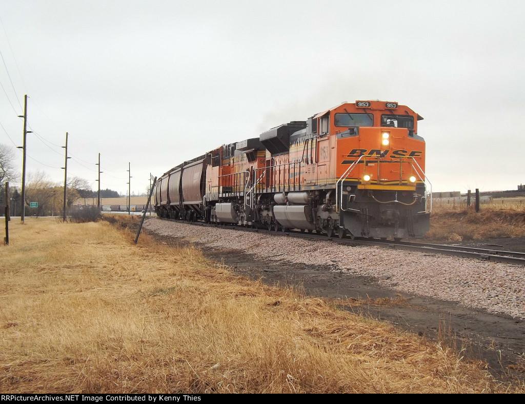 BNSF 9153